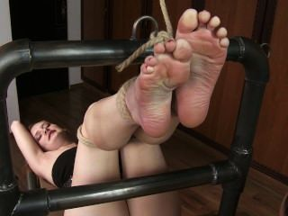 Tickling-submission - Barbara Nelis Gets Poor Heaven (2012) Heaven