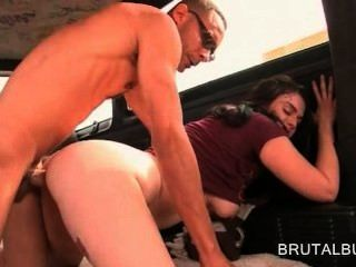 Dirty Amateur Chick Gets Slutty And Has Hardcore Sex In Bus