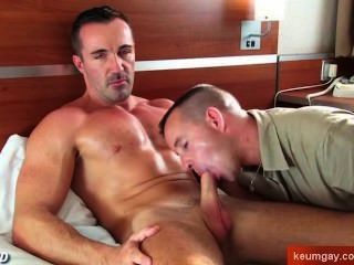 This Sport Mature Guy Get Sucked By My Friend Jerem! Hot Very Hot!