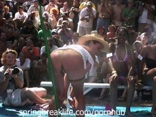 Wet Bikini Booty Shake