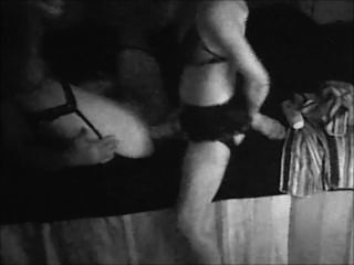 Cross Dressing Husband Gets Fucked By Wife With Huge Strapon