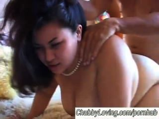 Beautiful Big Tits Asian Bbw Tyung Is A Hot Fuck