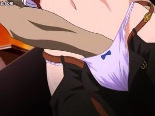 Hentai Gets Rubbed And Fucked By Ugly Dude