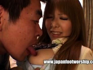 Japanese Foot Worship 14