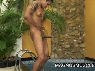 William Carioaca - Latino Dude Going Solo Jerking Off
