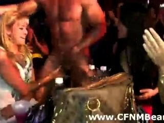 Cfnm Party Babes Suck Strippers Cock In Public