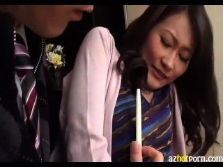 Japanese housewife caught cheating tmb