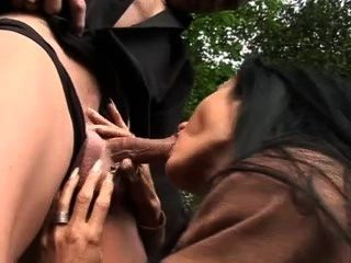 Shameless Whore Sidney Fucks For Cash Without Condom