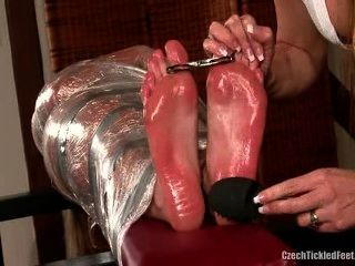 Feet Oiled And Tickled