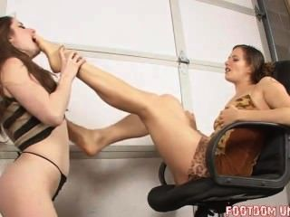 foot gag Sexy
