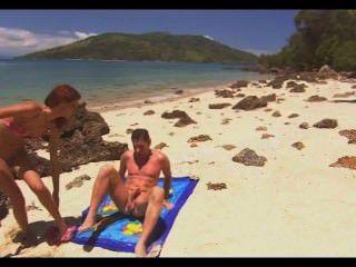 Beach Anal Quickie