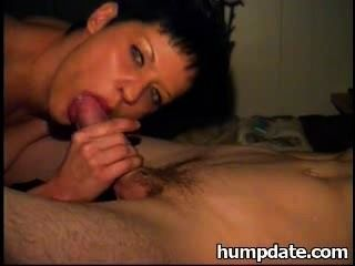 Sexy Wife Gives Nice Blowjob