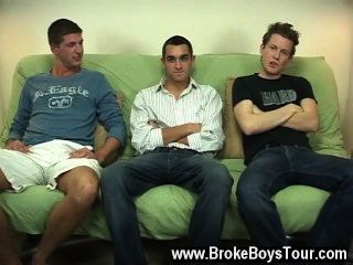 Hot Gay Scene As They Pumped Their Stiffys And Raced To Get Off, It Was A