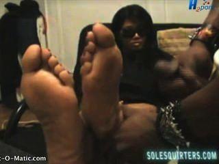Ebony Soles Blasted With Nut