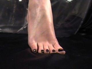 Sexy Foot Teasing