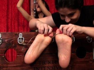 Desperately Ticklish Samantha