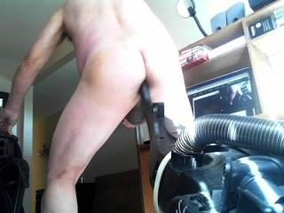 Vacuum Handle In The Ass