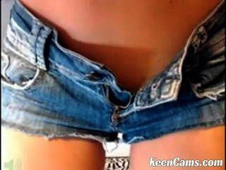 Hot Babe Strips Tease