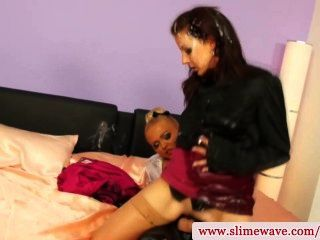 Hot Lesbian Riding On Strapon In Hot High Definition
