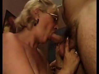 Italian Granny And Gentleman
