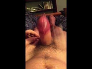 Hands Free Cumming #2 My Pulsing Cock