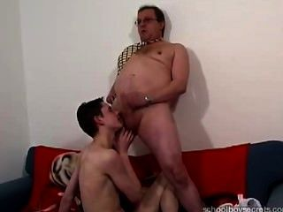 Old Teacher And His Naughty Pupil