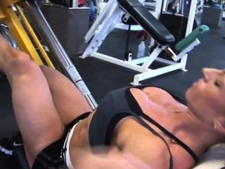 19yo sophie flexes her strong pussy muscles 1