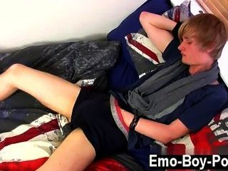 Hot Twink Scene Brent Daley Is A Cute Platinum-blonde Emo Stud One Of Our