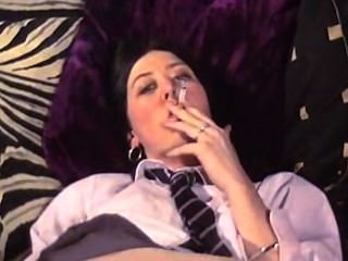 More Schoolgirl, Smoking, Fingering & Toying