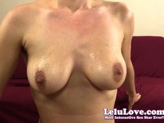 Lelu Love-spitting Rubbing Saliva Face Tits