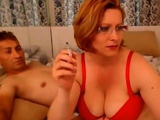 Horny Smoking Milf Pt.1