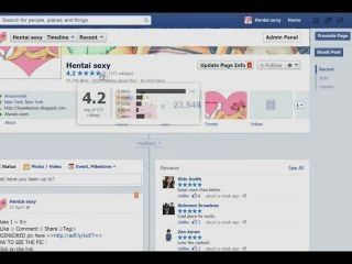 Fcebook Hentai Sexy Fan Page
