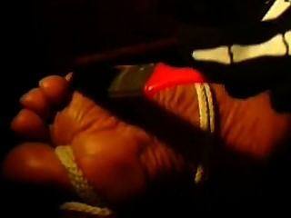 Foot Tickling & Verbal Tease/taunt