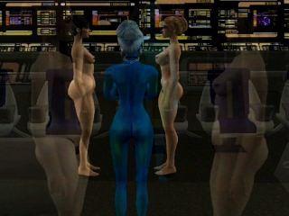 Simtrek Part#1 Sims 2 Sci-fi