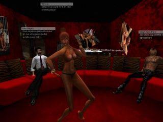 Venicie Et Fred Adjani Trainent Dans Une Rue Craignose Sur Second Life