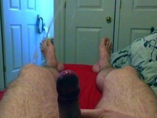 Slow-motion Cumshot Filmed On An Iphone 5s.