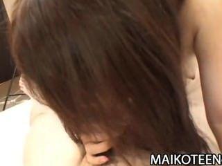 Shiori Shimizu - Hairy Pussy Japan Teen Learning Cock Riding