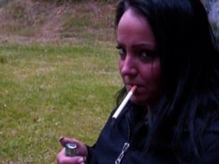 Smoking Sandra 1