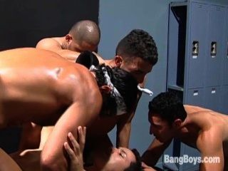 Bareback Dungeon Orgy - Scene 2
