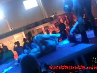 Arcangel Y Daniela Fucking In The Bar Of Sem By Viciosillos.com
