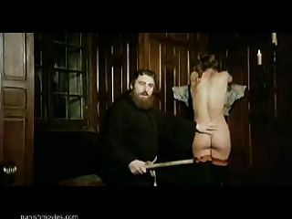 image Whipped religious sub punished for beliefs