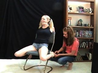 Lexi Tickling Sara Liz - F/f, This Girl Is The Meanest In Tickling!