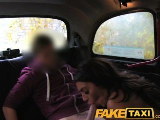 Faketaxi Busty Milf Gets Her Hot Lips On Big Cock