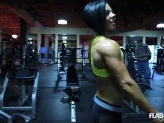 Dana Linn Bailey Posing