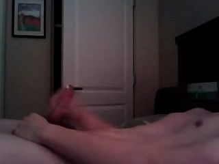 Twink Boy Stroking His Dick