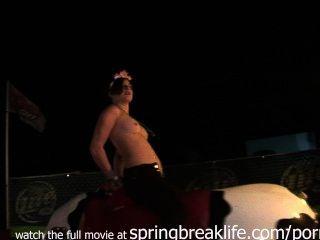 Topless Bull Riding