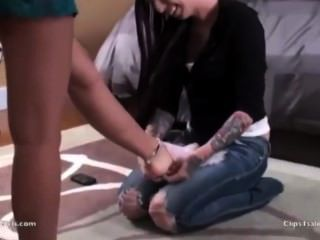 Slave Girl Worship Feet