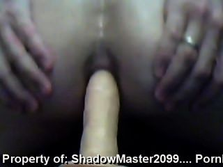 Nice Ass Fucked By Dildo Pov