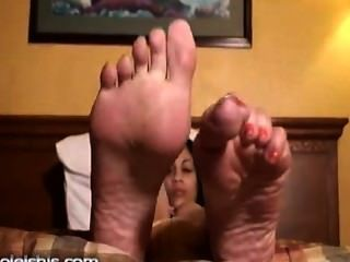 Ebony Soles Of Dior
