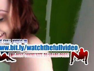 Redhead Tits Painting Nude